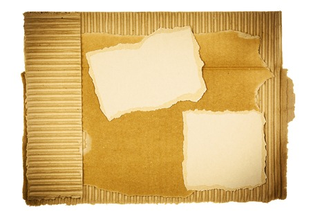 Cardboard background with copy space, design element photo