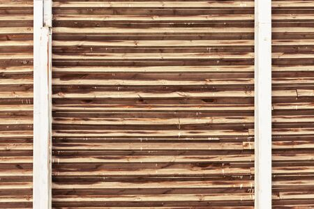Wooden construction, noise isolating wall