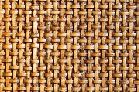 Wooden bamboo mesh texture design detail