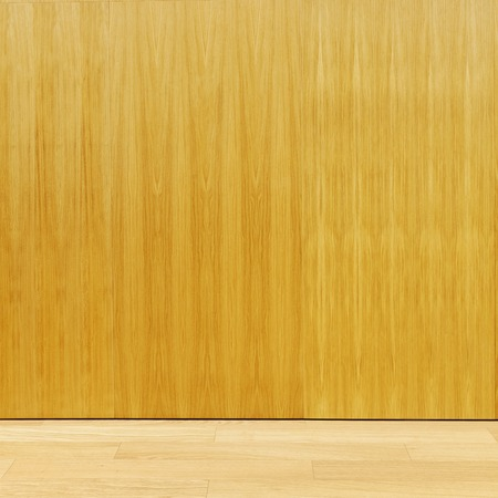 plywood: Plywood wall with floor