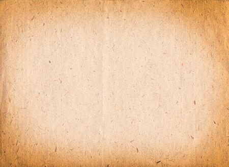 ハンドメイドの茶色の質感の紙 写真素材
