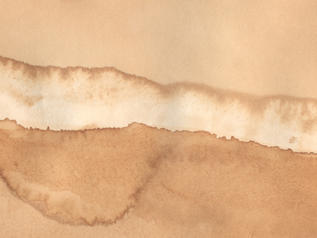 Vintage old stained paper, scanned in high resolution Standard-Bild