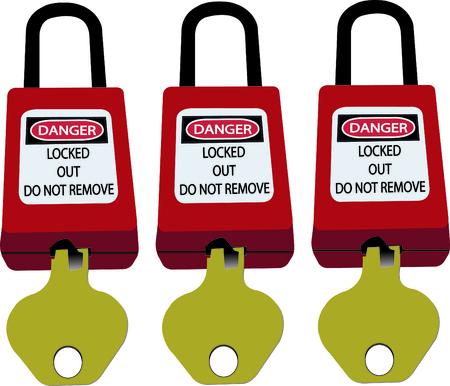 Verrouillage et étiquetage, station de verrouillage, dispositifs de verrouillage spécifiques à la machine