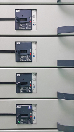 electrical part and accessories in the  control cabinet , control and power distributor,lockout