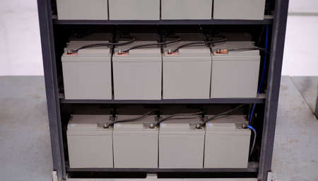electrical part and accessories in the control cabinet , control and power distributor,lockout ,tagout. Battery backup for Emergency lighting