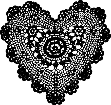 crochet: Knitting heart