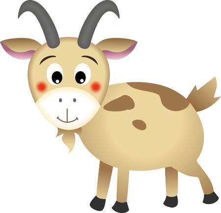 cabras: Cabra Vectores