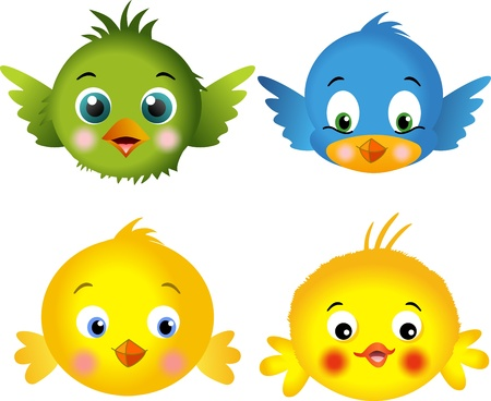 bird icon: Birds and chicks