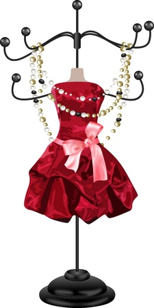 colliers: Cintre Bijoux Illustration