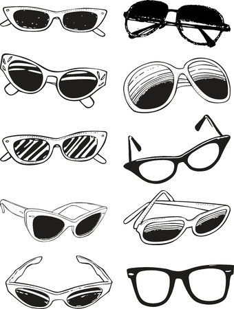 accessory: Glasses Illustration