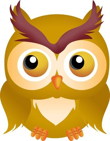 night owl: Halloween Owl Illustration