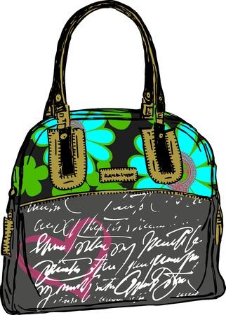 leather bag: Bag Lady Love