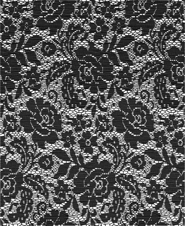black lace: Cloth Lace
