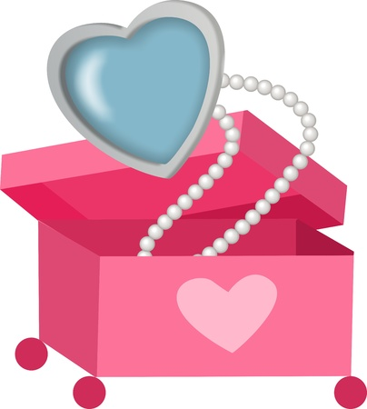 jewelry boxes: Pearl Necklace