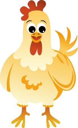 Chicken Stock Vector - 12024264