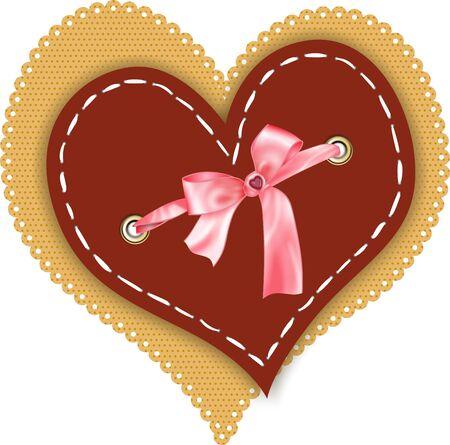 embellished: Heart Embellished Scrapbook
