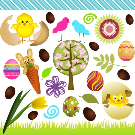 Easter Collage Vector