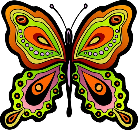 Butterfly Stock Vector - 12380073