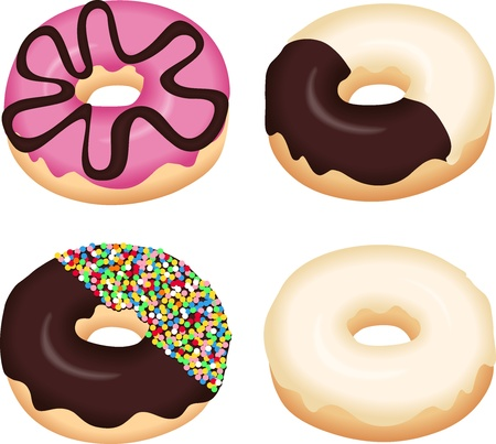 donut: Sweet Donuts Illustration