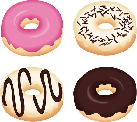 süssigkeiten: Leckere Donuts
