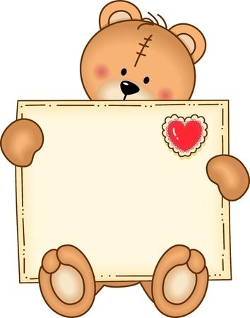 day dream: Bear Secure Envelope