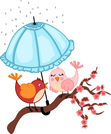 birdie: Gli amanti Uccelli a pioggia