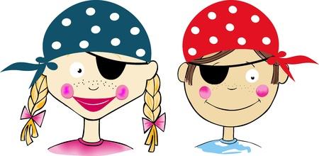 pirate girl: Children Pirates
