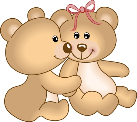 osos de peluche: Osos de peluche en el amor