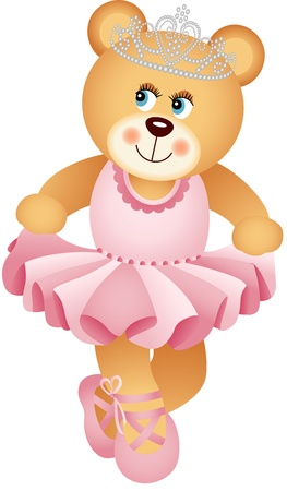 teddies: Ballerina Teddy Bear