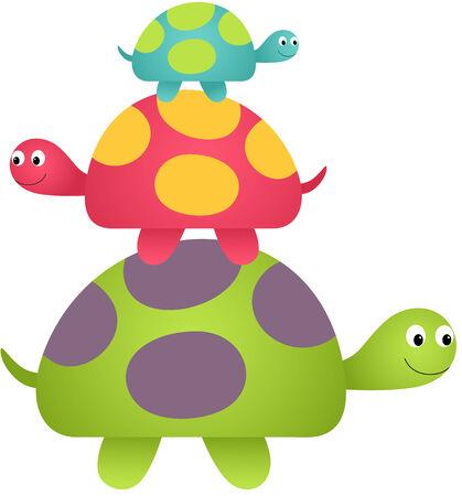 Happy Turtles Vector