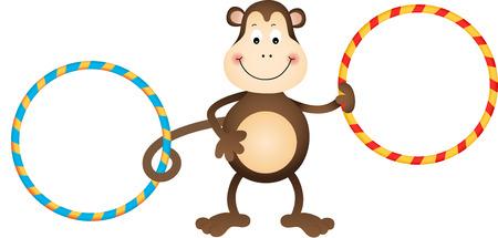 hoop: Monkey with Hula Hoops