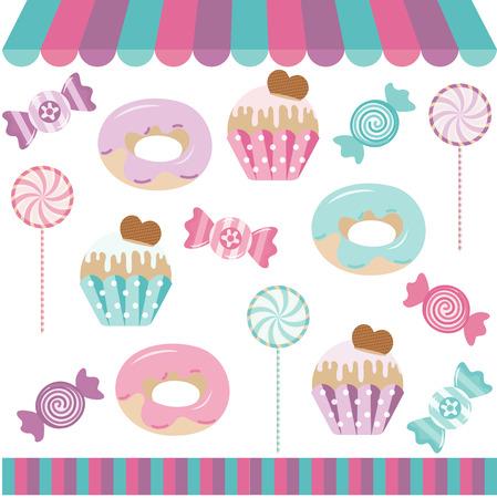 candies: Candy Shop Collage de Digitals