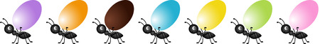 ant: Ant Carrying a Egg