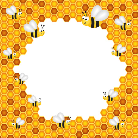 Honeycomb Frame Royalty Free Cliparts Vectors And Stock Illustration Image 37973178