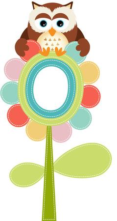 jubilation: Owl on tree Illustration