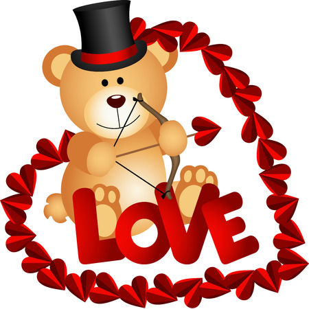 valentine s day teddy bear: Valentine Teddy Bear