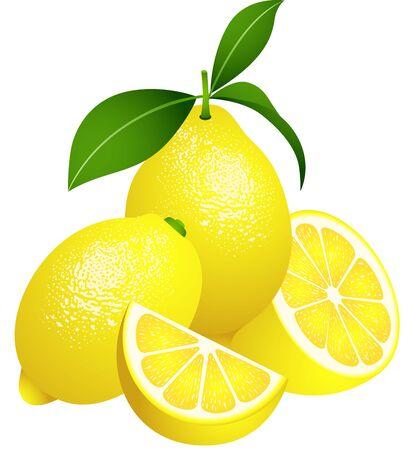 limon caricatura: Limones jugosos