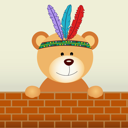 happy baby: Indian teddy bear