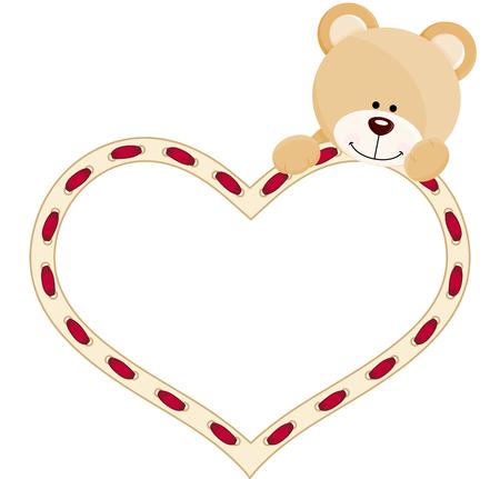 jubilation: Teddy bear with heart