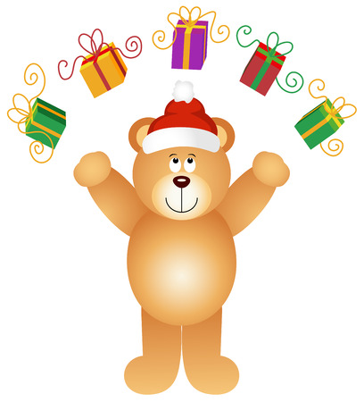 christmas gifts: Christmas teddy bear juggling gifts