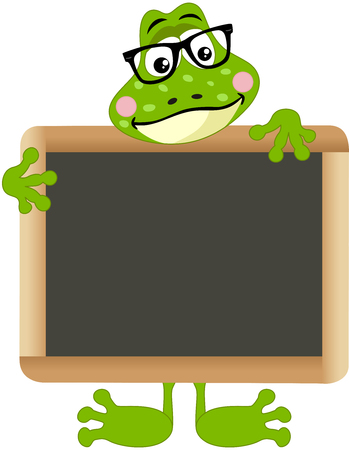 anura: Frog teacher with school board