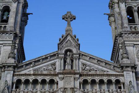 Frontage Sao Torcato Church in Guimaraes, Portugal