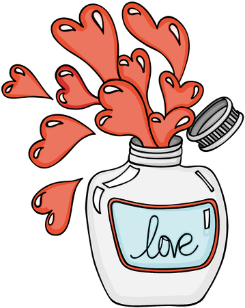 愛のポーション瓶