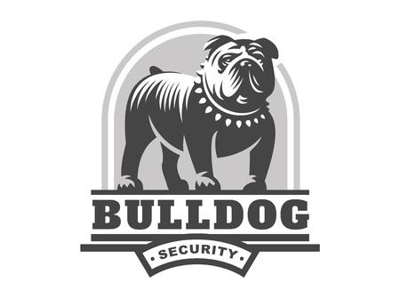logotipo del dogo - ilustración vectorial, emblema