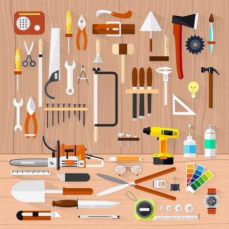 herramientas de carpinteria: Carpintería herramientas de hardware Construcción.