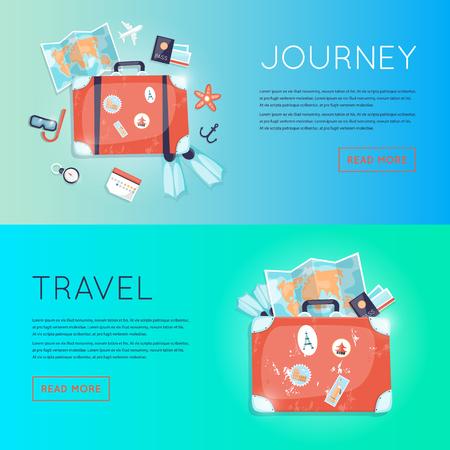 valigia: Viaggio nel mondo. Pianificazione vacanze estive. Turismo e il tema di vacanza. piano di viaggio, il turismo e il viaggio. viaggio estivo.