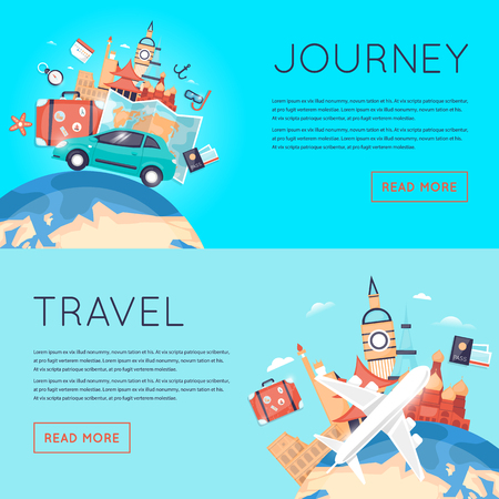 World Travel. Planning summer vacations. Tourism and vacation theme. Trip plan, tourism and journey.