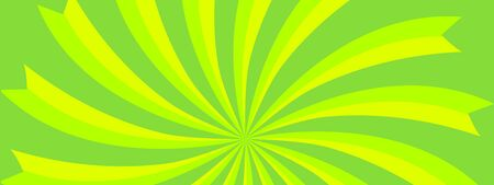 Green abstract flare swirl background modern style 向量圖像