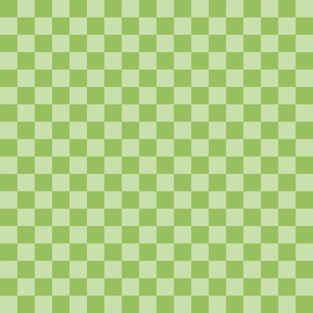 Chessboard background pattern seamless texture green colorful vector illustration