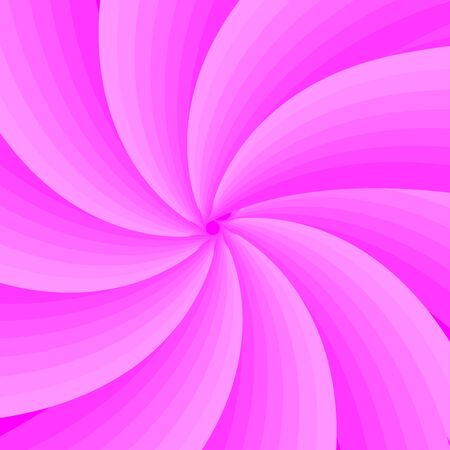 Abstrack pink purple flower rays swirl background texture pattern wallpaper vector illustration trendy colorful modern style